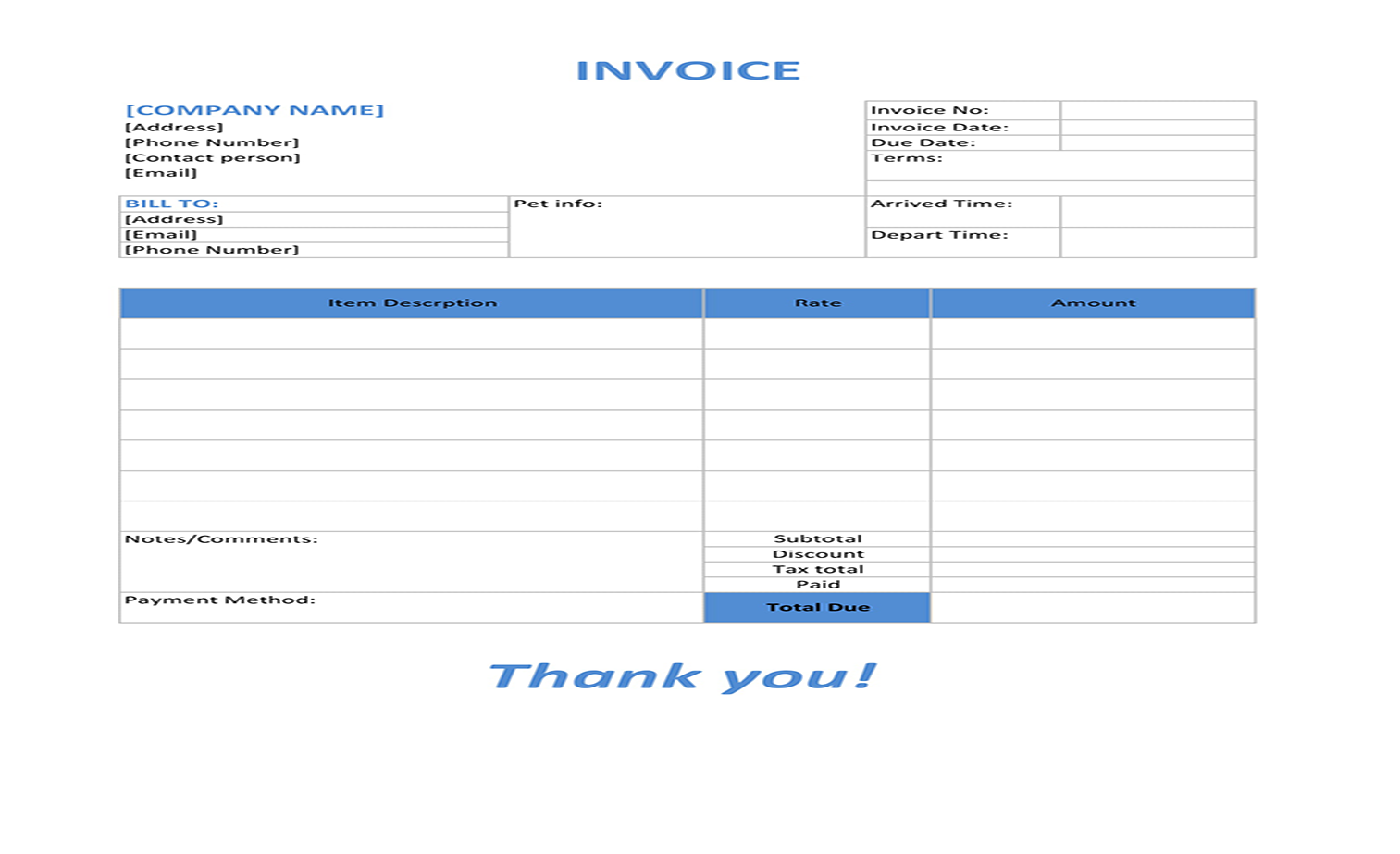 Rapidbooks Invoice Startup Agency And Sass Business Template
